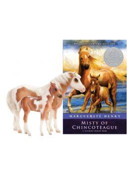 Breyer Traditional 1157 Misty & Stormy - Buch-Set