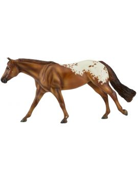 Breyer Traditional 1842 Traditional Chocolatey Appaloosa Champion 2021