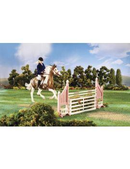 Breyer 2043 Brush Box Jump (ohne Pferd und Reiter)