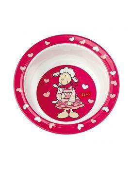 Sigikid 24436 Melamin Schüssel Schnuggi in pink