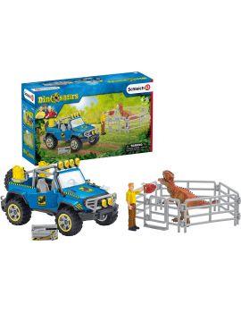 Schleich® Wild Life 41464 Geländewagen mit Dinosaurier Außenposten