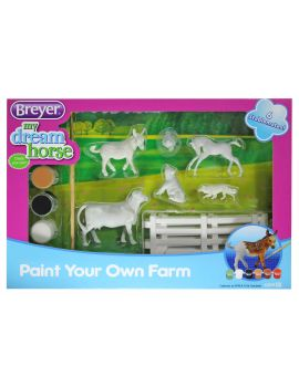 Breyer Stablemates 4209  Paint your Own Farm