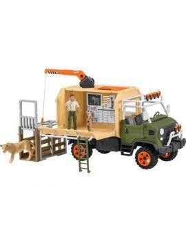 Schleich Farm World 42475 Großer Truck Tierrettung