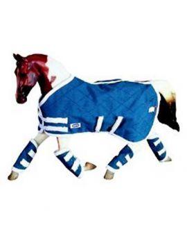 Breyer 3947 Traditional Decken-Set Blau