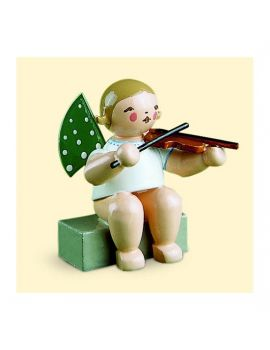 Wendt & Kühn sitzender Engel mit Geige