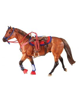 """Breyer Traditional Western Reitset """" Hot Colors """""""