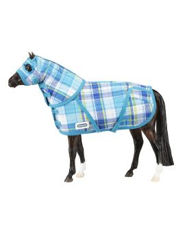 Breyer Traditional Quilted Blanket und Hood Set