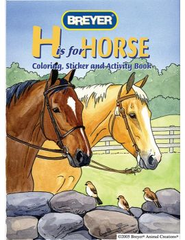Breyer 4120 Malbuch H is for Horse