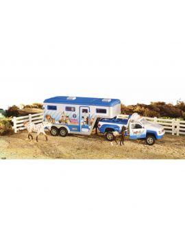 Breyer Stablemate Animal Rescue Truck & Trailer Set