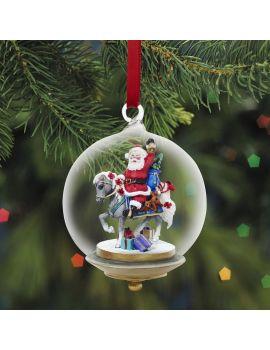 Breyer Glass Globe Ornament 2013