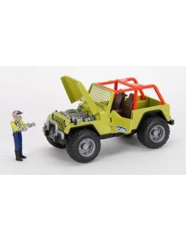 Bruder® 09037 Jeep Wrangler grün mit Fahrer