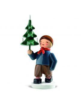 Wendt & Kühn Winterkinder, Junge mit Baum