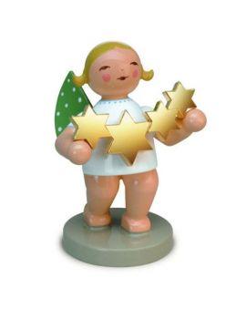 Wendt & Kühn 650-118 Blond Sternenfänger mit vergoldeten Sternen